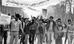 در پی انتشار مقاله توهین آمیز «ایران و استعمار سرخ و سیاه» در روزنامه اطلاعات، در ساعت 13، حدود40 نفر از اهالی مشهد در خیابان خسروی نو اقدام به برپایی تظاهرات کردند(1356ش)