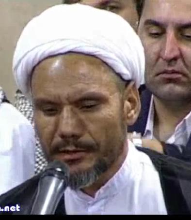 شعرخوانی آقای حجت الاسلام محسن سعیدی (از افغانستان) در محضر رهبر معظم انقلاب شب نیمه ماه مبارک رمضان (1395/03/31 - صوتی)