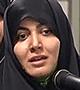 شعرخوانی در محضر رهبر معظم انقلاب 1394/04/10 - سرکار خانم عطیه سادات حجتی از تهران