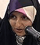 شعرخوانی در محضر رهبر معظم انقلاب 1394/04/10 - سرکار خانم معصومه فراهانی از قم
