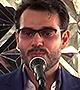 سید محمدرضا یعقوبی - شعرخوانی در حرم مطهر رضوی در حضور رهبر معظم انقلاب (صوتی - 1395/04/25)