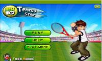 بن 10 ستاره تنیس