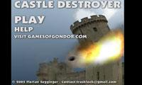 پرتاب توپ به قلعه