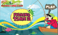 بازی کودکانه درباره ماهیگیری