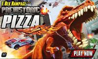 دایناسور پیتزا خور