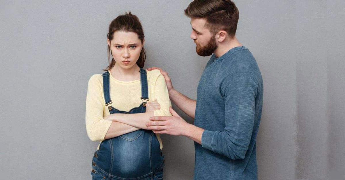 تنفر از همسر در دوران بارداری