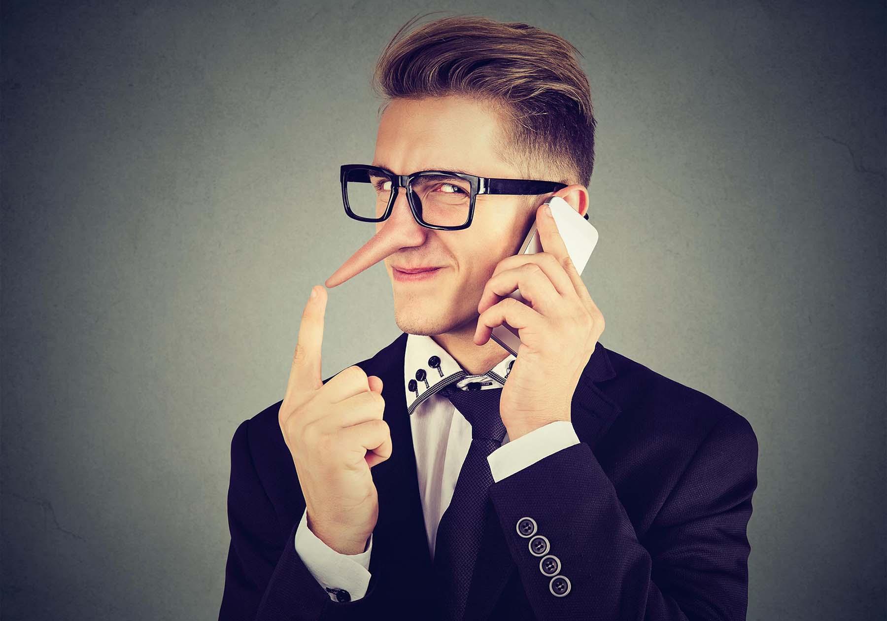 تشخیص دروغگویی افراد از روی زبان بدن