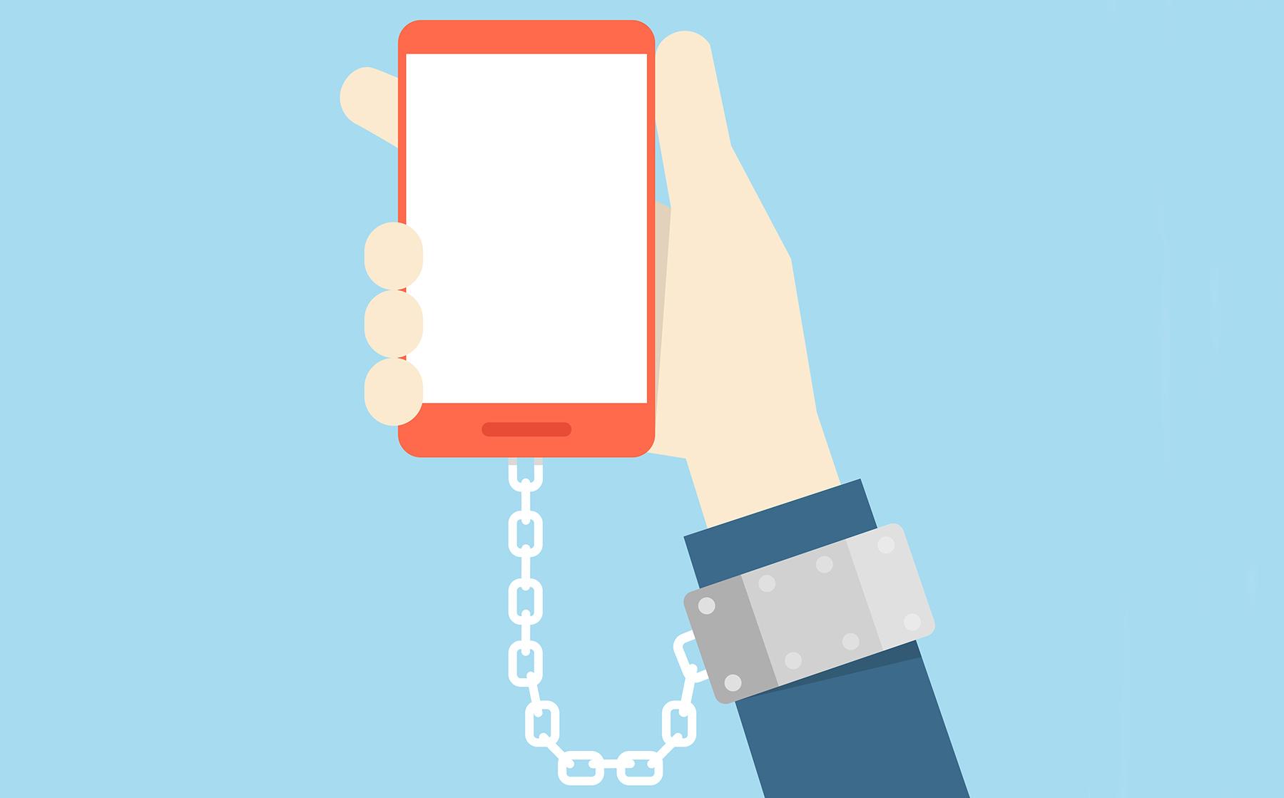 معضلی به نام وابستگی به موبایل