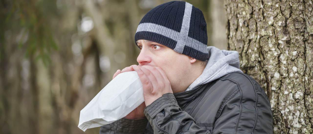 درمان مشکل تنفس بسیار سریع