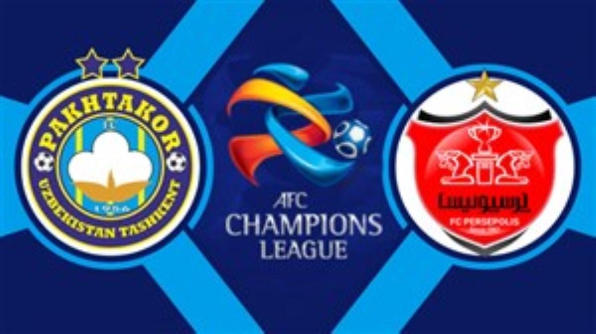 پرسپولیس تهران 1 - پاختاکور ازبکستان 1 (خلاصه بازی)