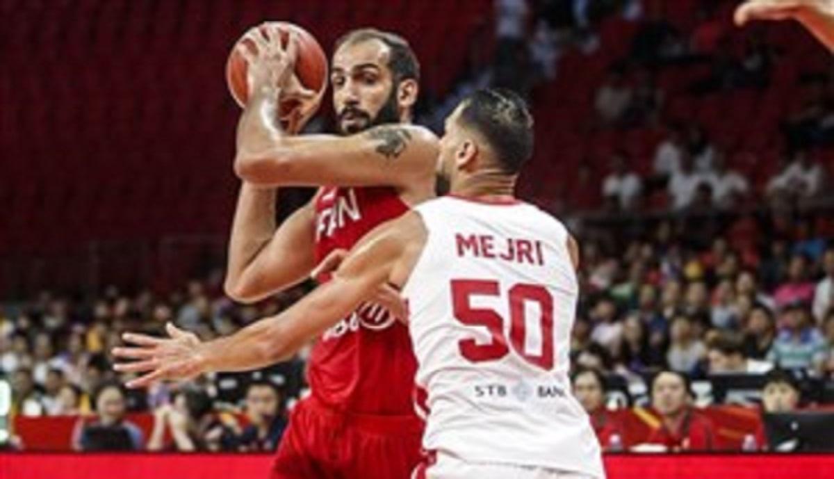 خلاصه بسکتبال ایران 67 - تونس 79 (جام جهانی)