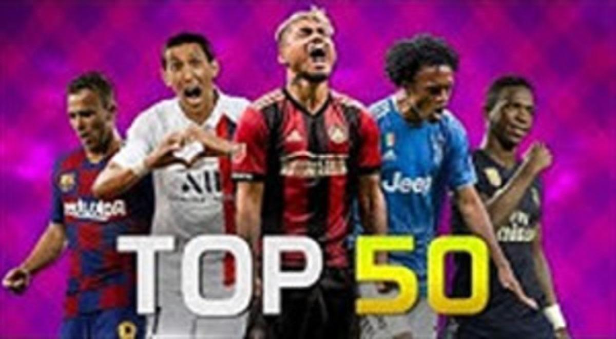 50 گل برتر ماه سپتامبر 2019