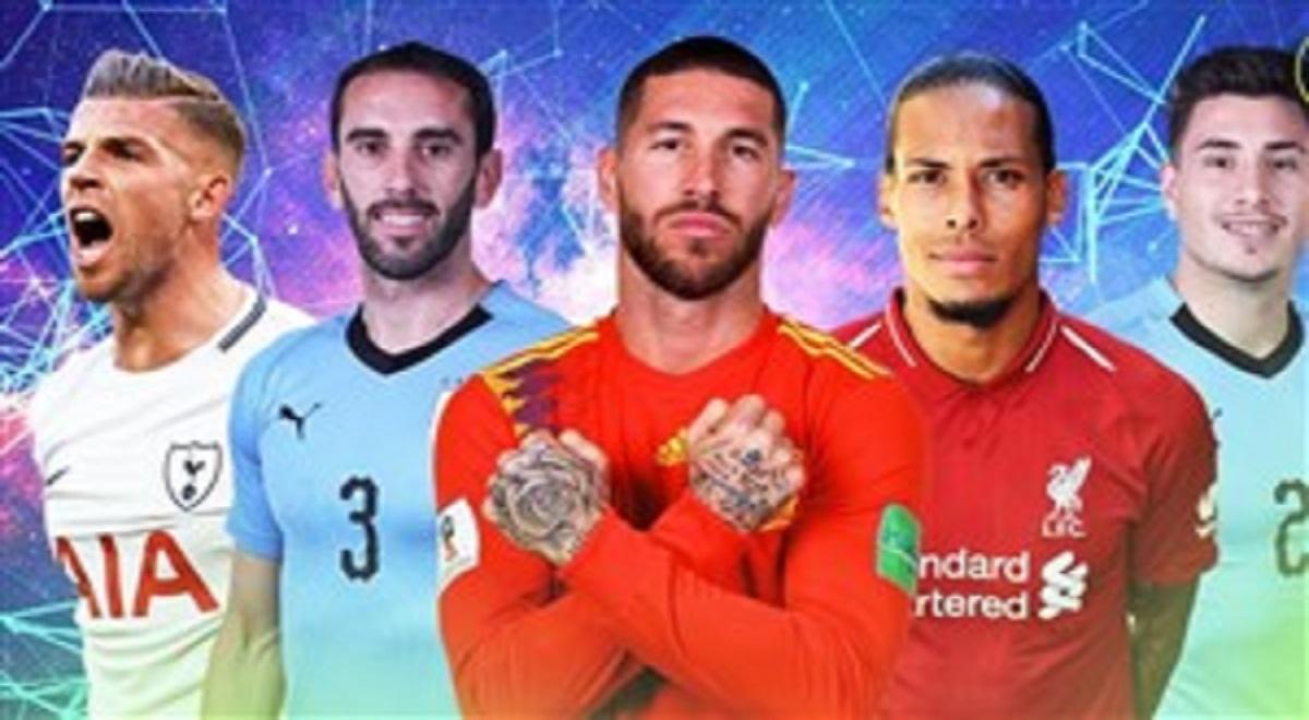 برترین مدافعان فوتبال جهان در سال 2019