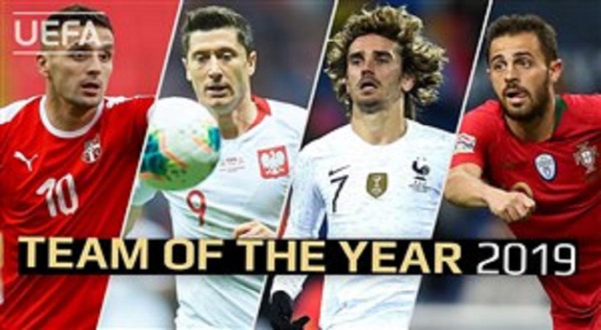 برترین بازیکنان یوفا تکنیکی سال 2019