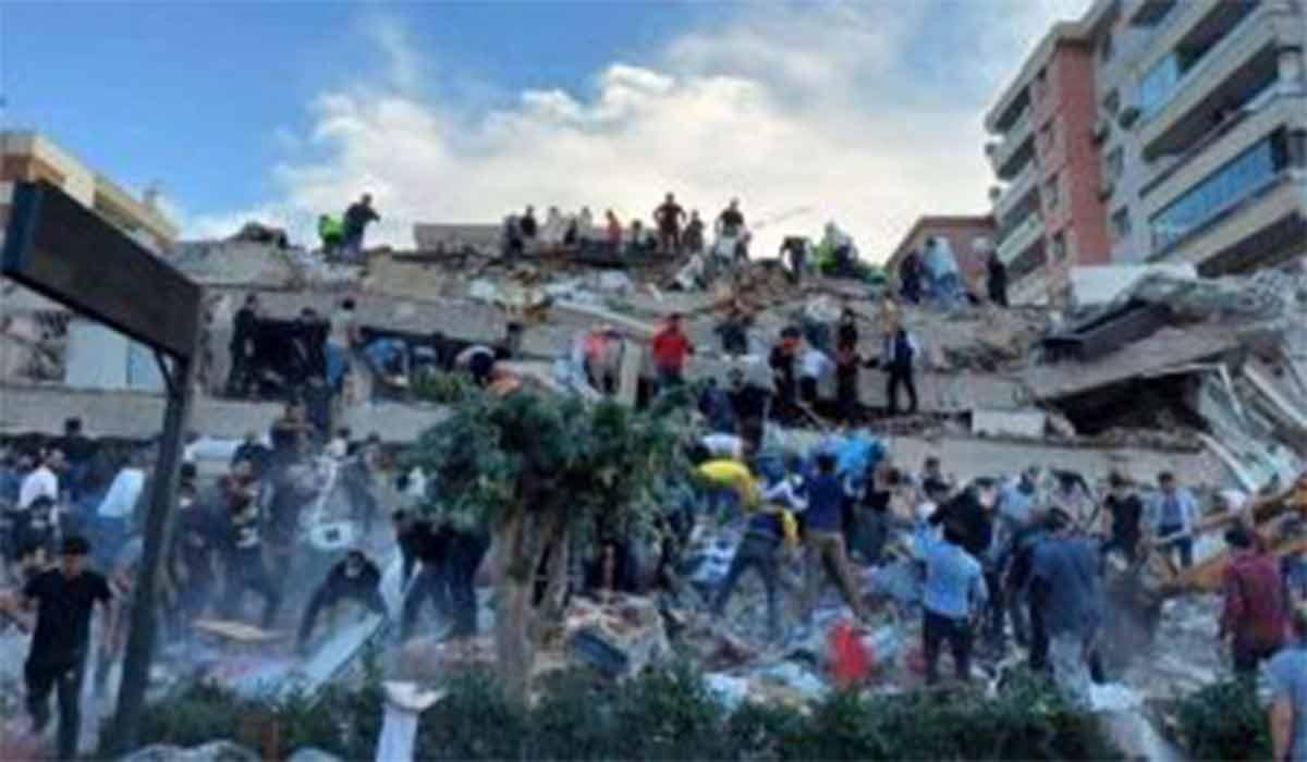 کودکانی که حین انجام تکالیف اسیر زلزله شدند!
