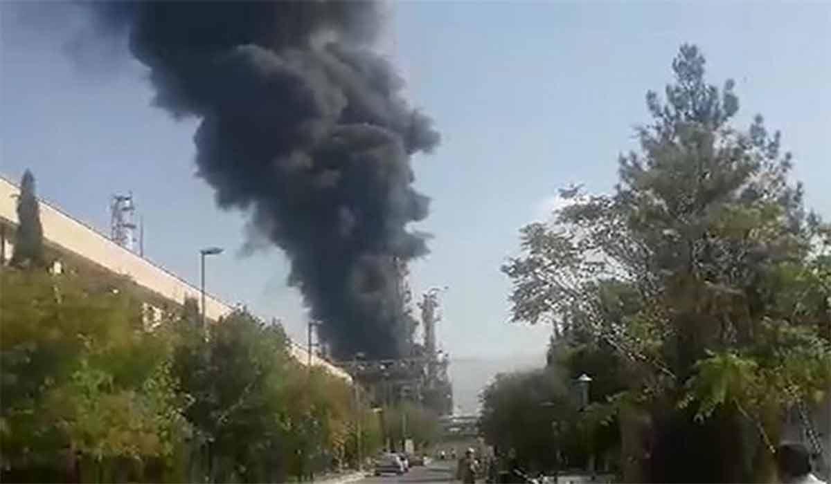 آتشسوزی در پتروشیمی ایلام