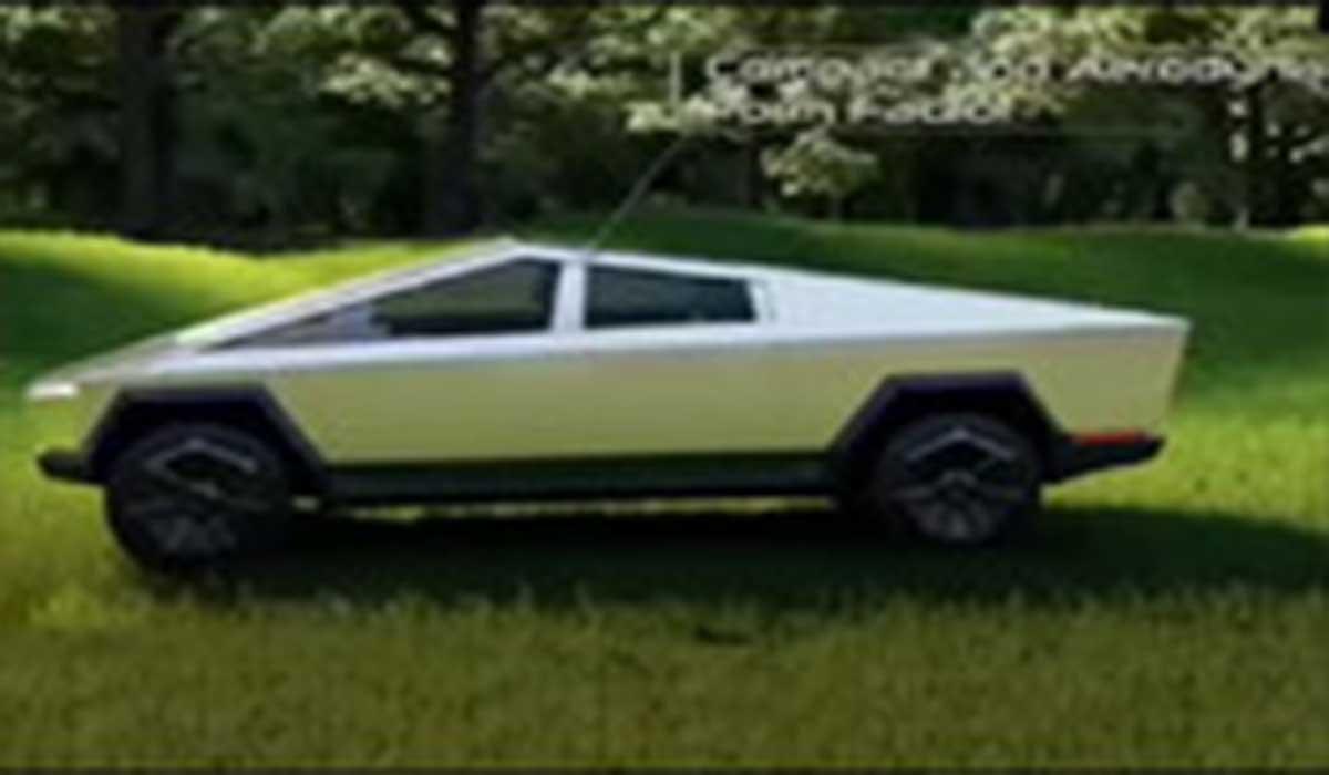 محصول آینده کمپانی خودروسازی تسلا شبیه تانک!