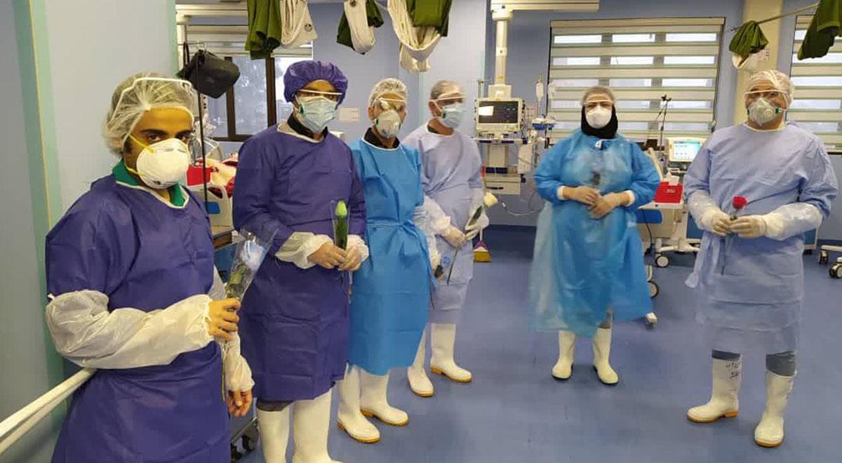 روایت پرستار قمی از روحیه مضاعف پزشکان و پرستاران پس از پیام رهبری