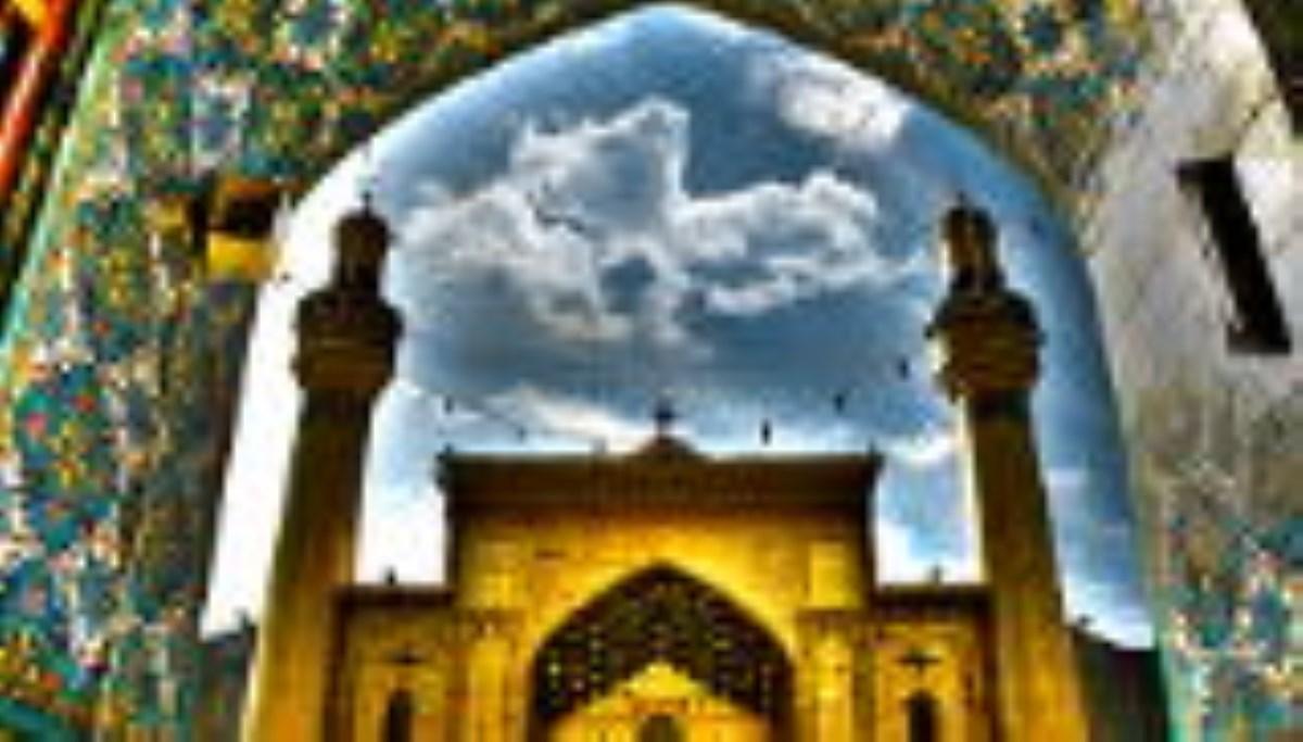 اذان صبح ۱۹ ماه رمضان در حرم امام علی (ع)