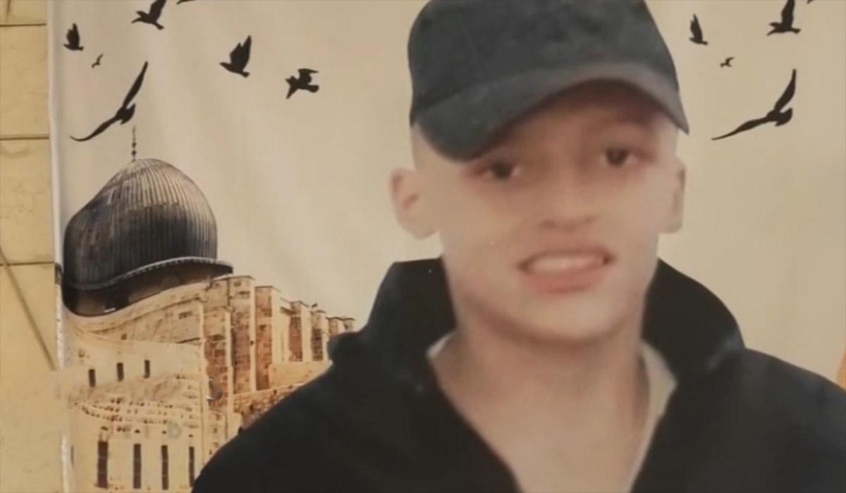 توقیف پیکر نوجوان فلسطینی و برداشتن اعضای بدنش