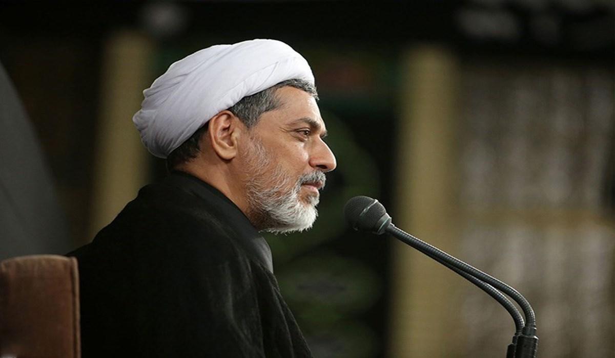 حجت الاسلام رفیعی/سخنرانی در حضور رهبر معظم انقلاب؛ شام غریبان 98