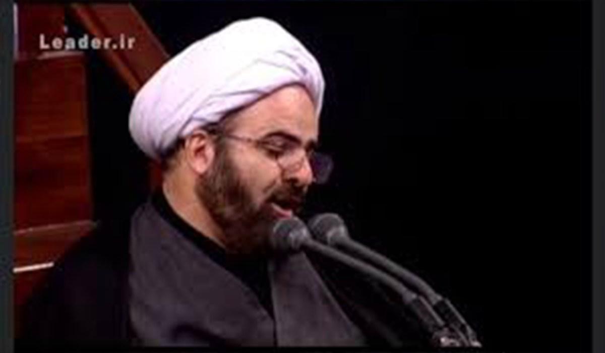 حجت الاسلام هادی محمدپور/ مداحی در حضور رهبر معظم انقلاب، شب تاسوعا 98