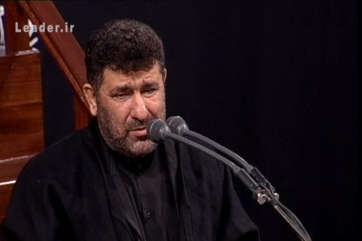 سعید حدادیان/ مداحی در حضور رهبر معظم انقلاب؛ شب آخر مراسم محرم 98/ صوتی