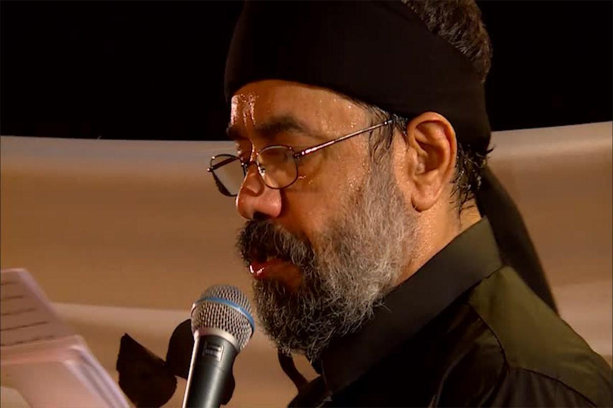 محمود کریمی: چهره از خون خدا کردی خضاب ای ذوالجناح/ عاشورای 98