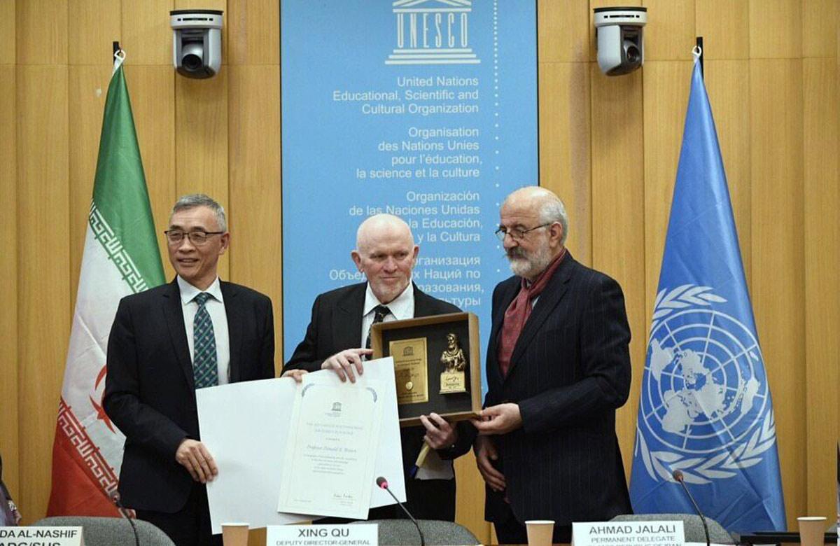 پنجمین دوره اعطای «جایزه ابن سینا» جایزه اخلاق در علم یونسکو به نام ابتکار ایران