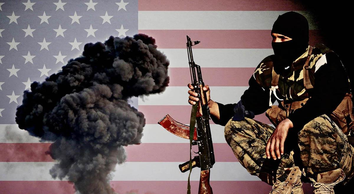 تصاویری از انتقال عناصر داعش به عراق توسط بالگردهای آمریکایی