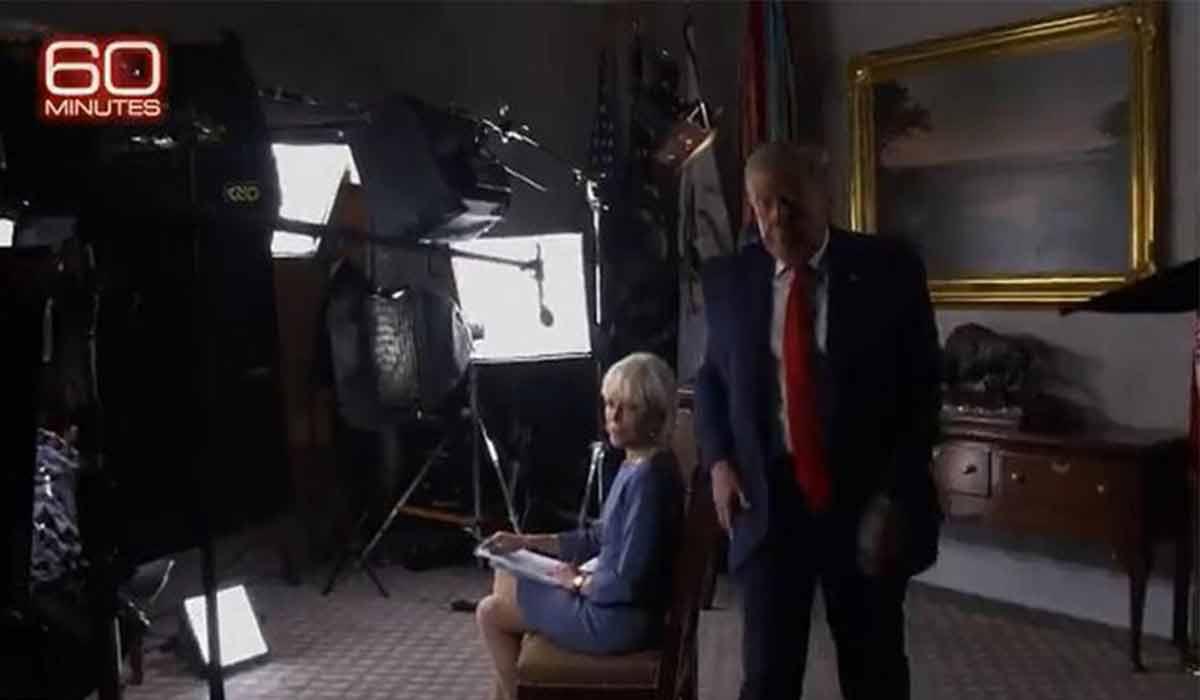 سابقه ترامپ در ترک کردن مصاحبه!