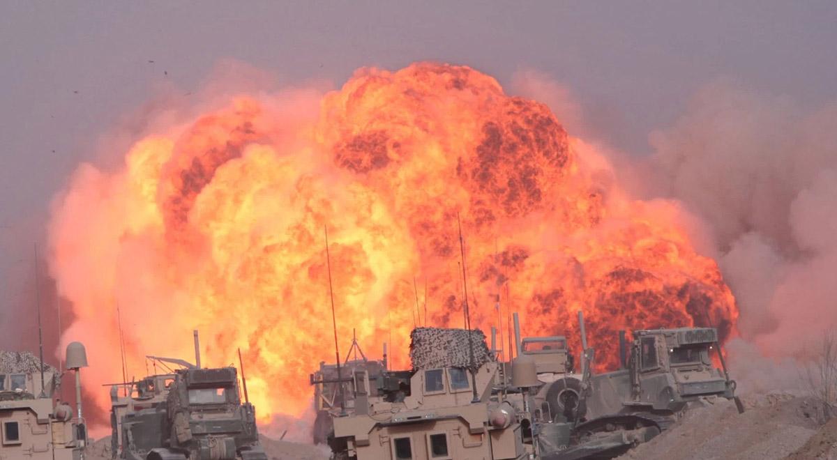 قدرت تخریب انفجار (۲۵ کیلو گرم) آمونیوم نیترات