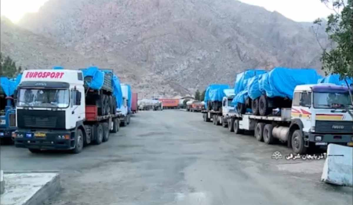 انتقال تجهیزات نظامی به مرز آذربایجان شرقی!