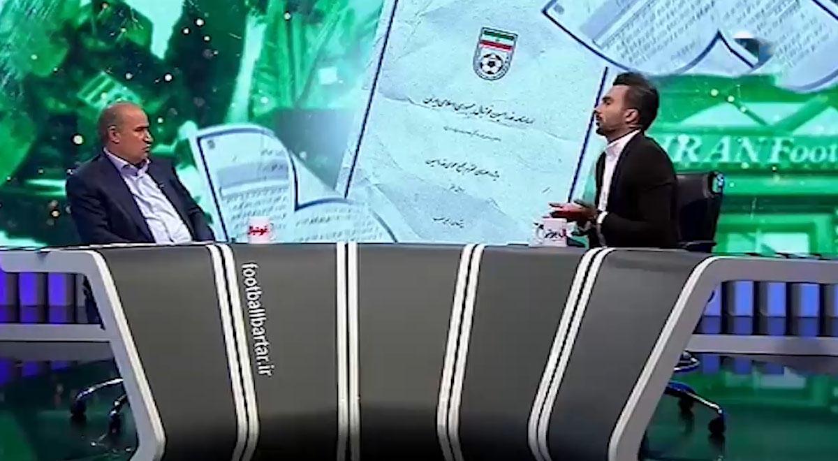 عدم اعتماد تاج به برنامه فوتبال برتر و میثاقی