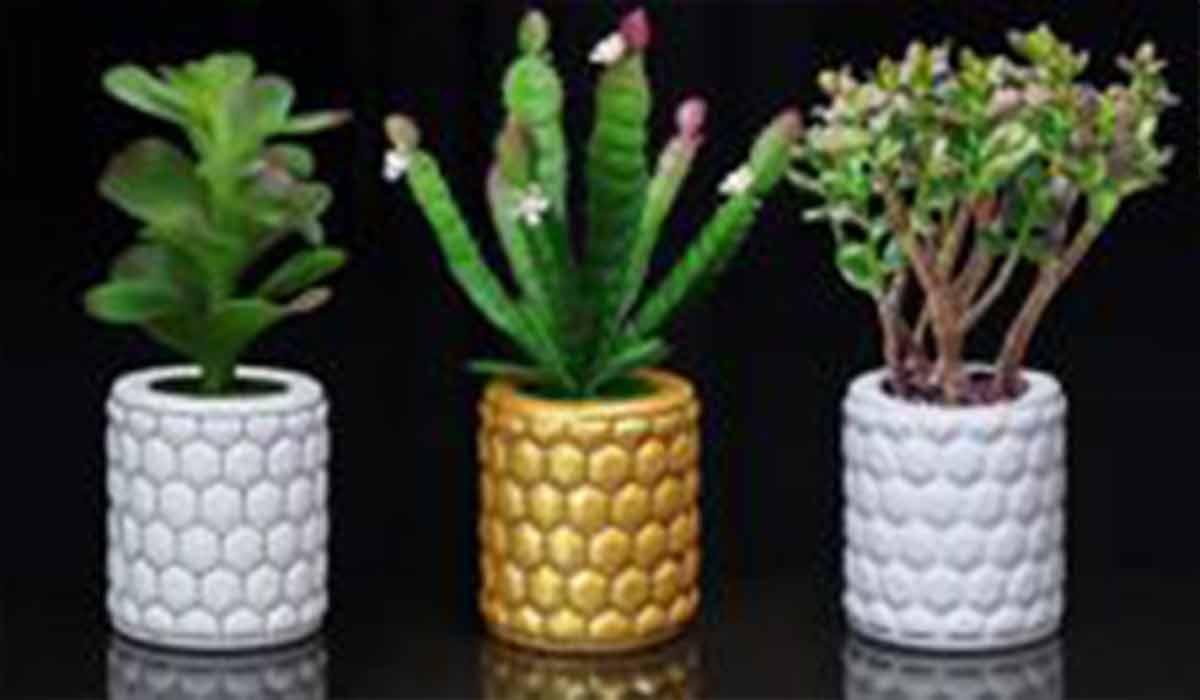 ترفند ساخت گلدان سرامیکی