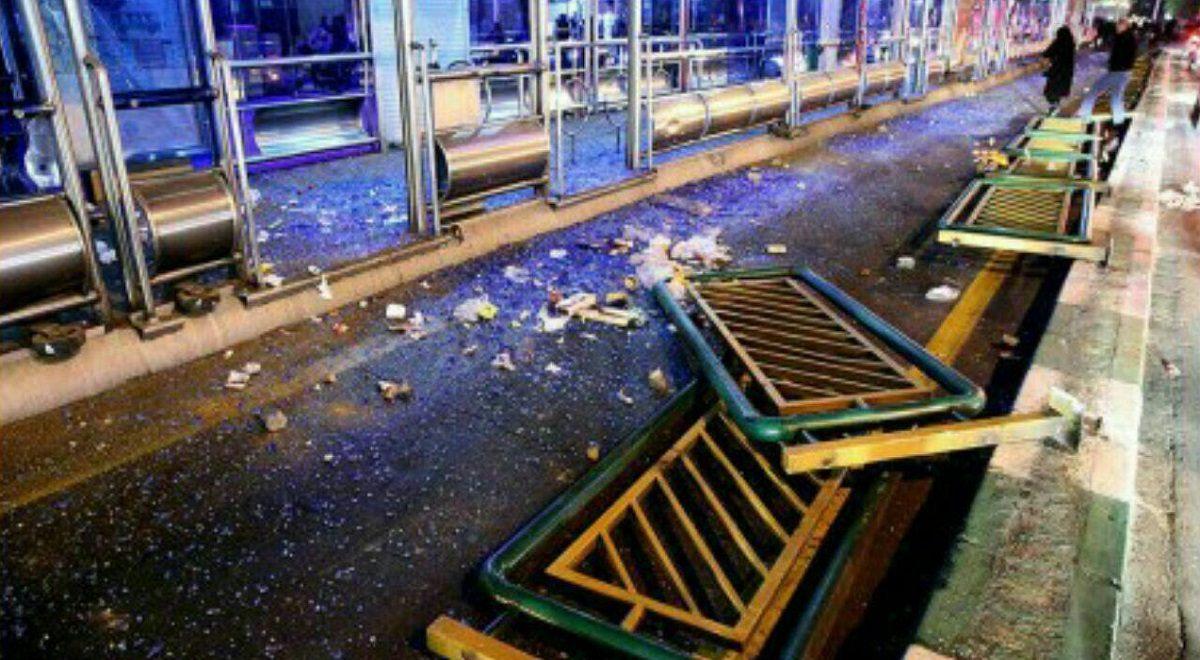 فیلم های منتشر نشده از حمله به اماکن عمومی در حوادث اخیر