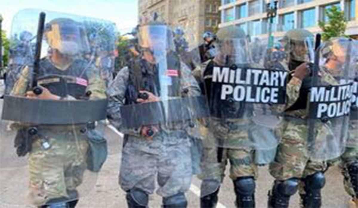 ارتش آمریکا علیه مردم آمریکا!