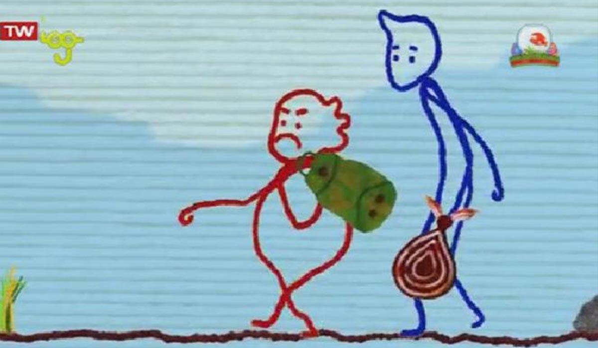 انیمیشن نظر شما چیه؟ | اعتماد بی جا