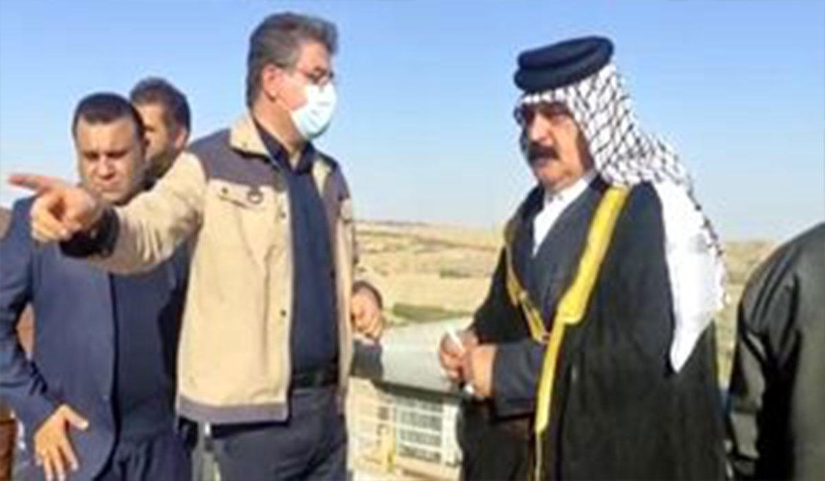 شیوخ عرب خوزستان از سد کرخه بازدید کردند