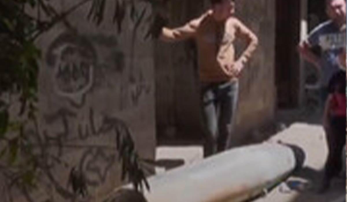 بمب عمل نکرده در غزه!