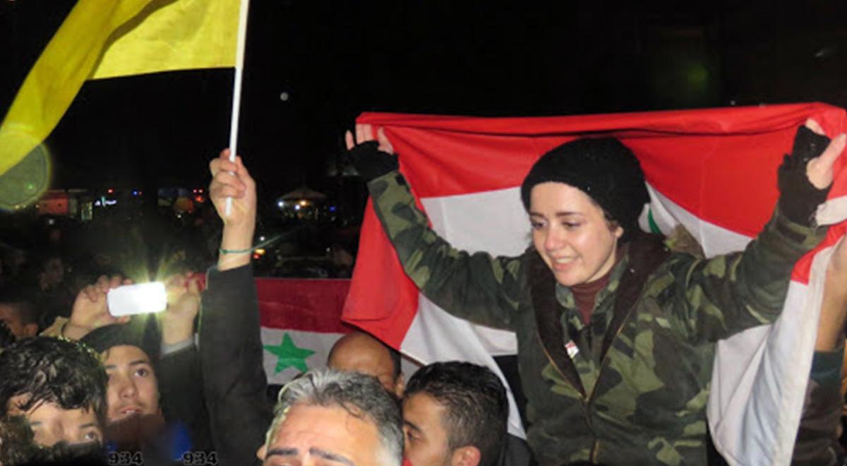 خوشحالی مردم حلب پس از بیرون راندن تروریستها
