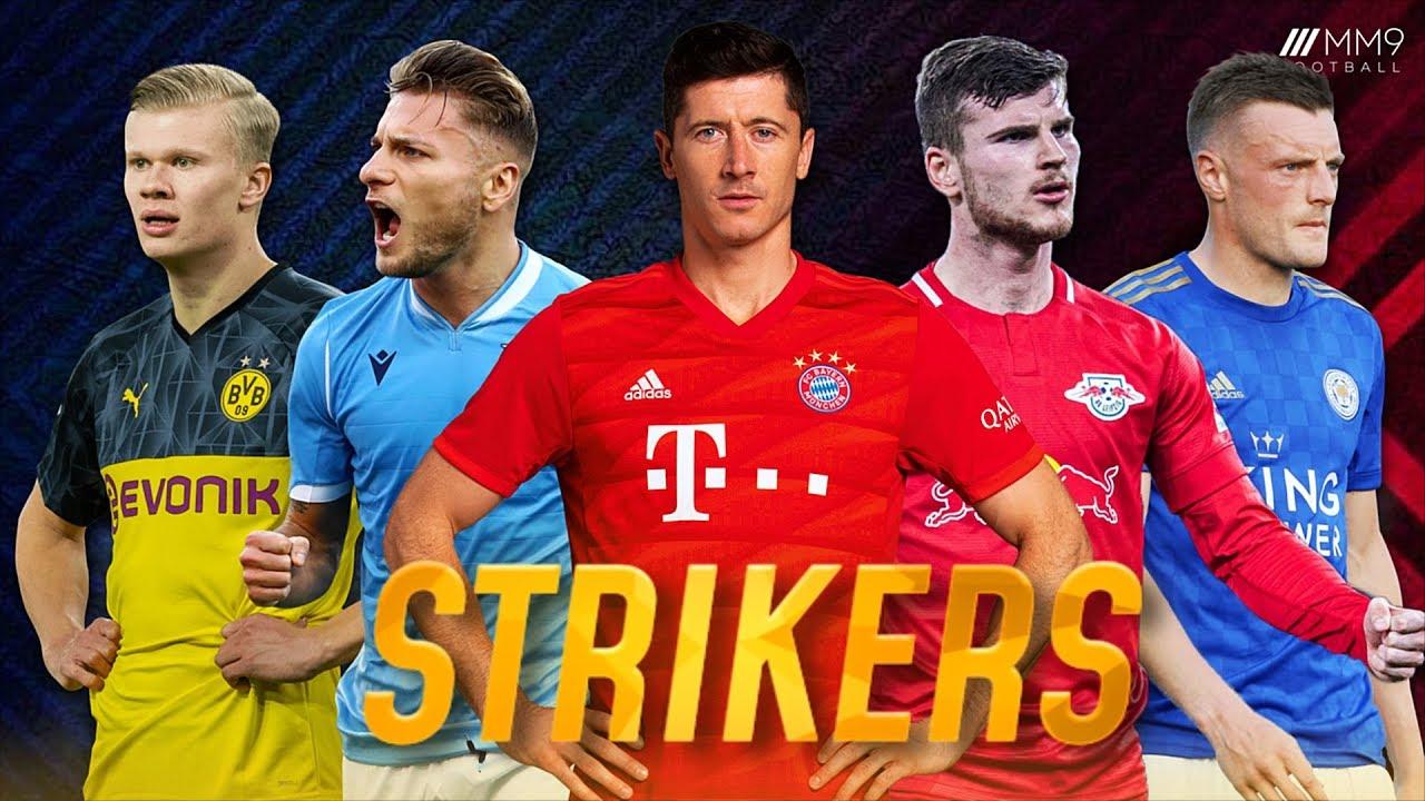 10 مهاجم برتر فوتبال در سال 2020