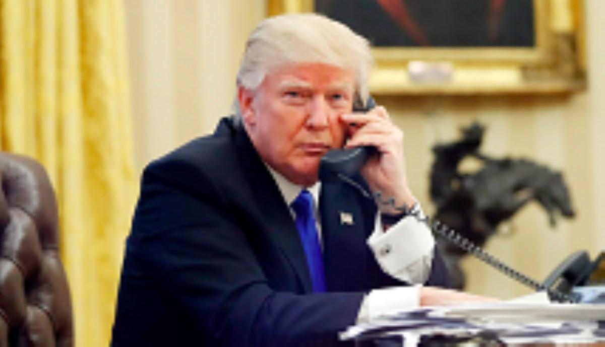 اولین تماس ایران با تلفن دفتر ترامپ گرفته شد