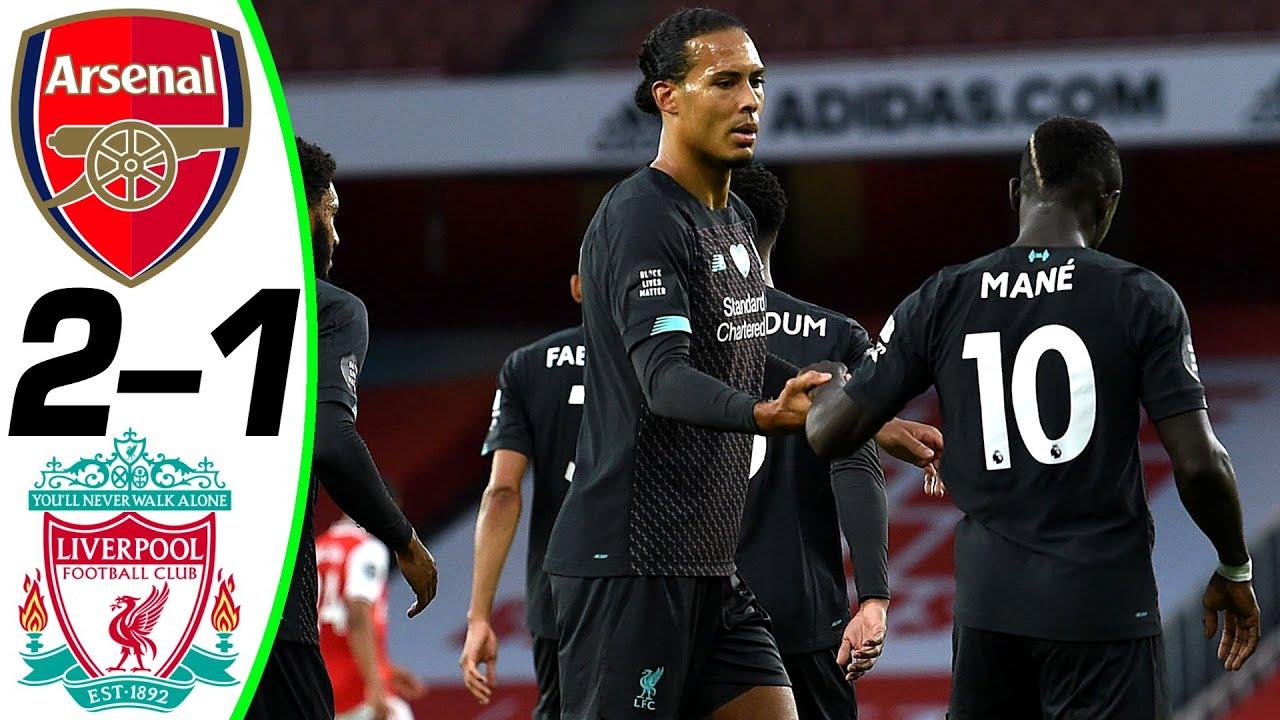 خلاصه بازی فوتبال آرسنال 2 - لیورپول 1