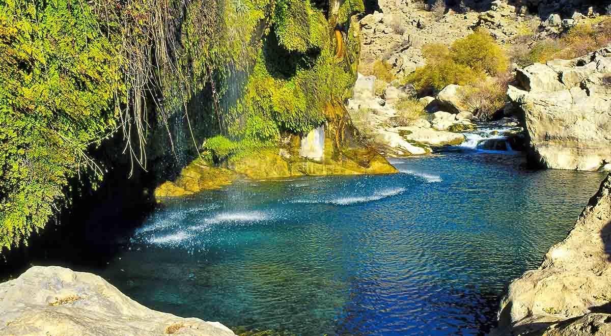 چشم انداز زیبای تنگ براق استان فارس
