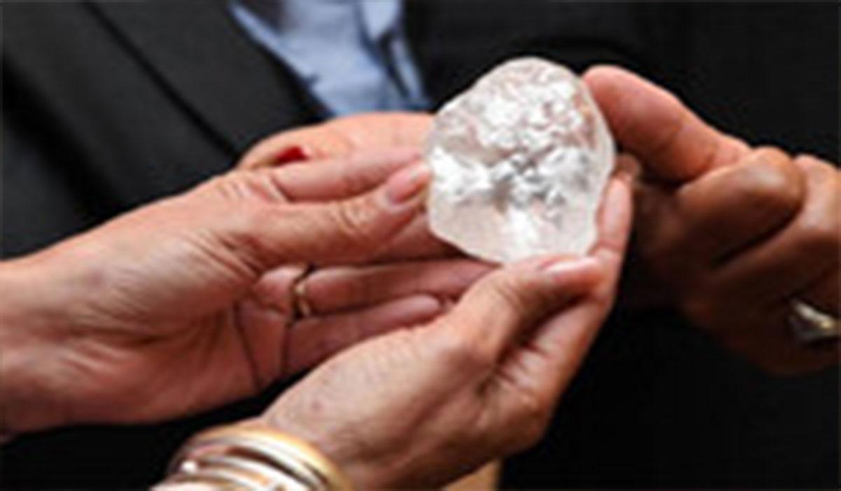 سومین الماس بزرگ جهان در آفریقا!