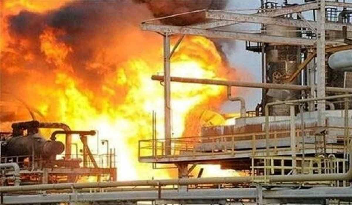 انفجار در واحد آروماتیک پتروشیمی بندر امام