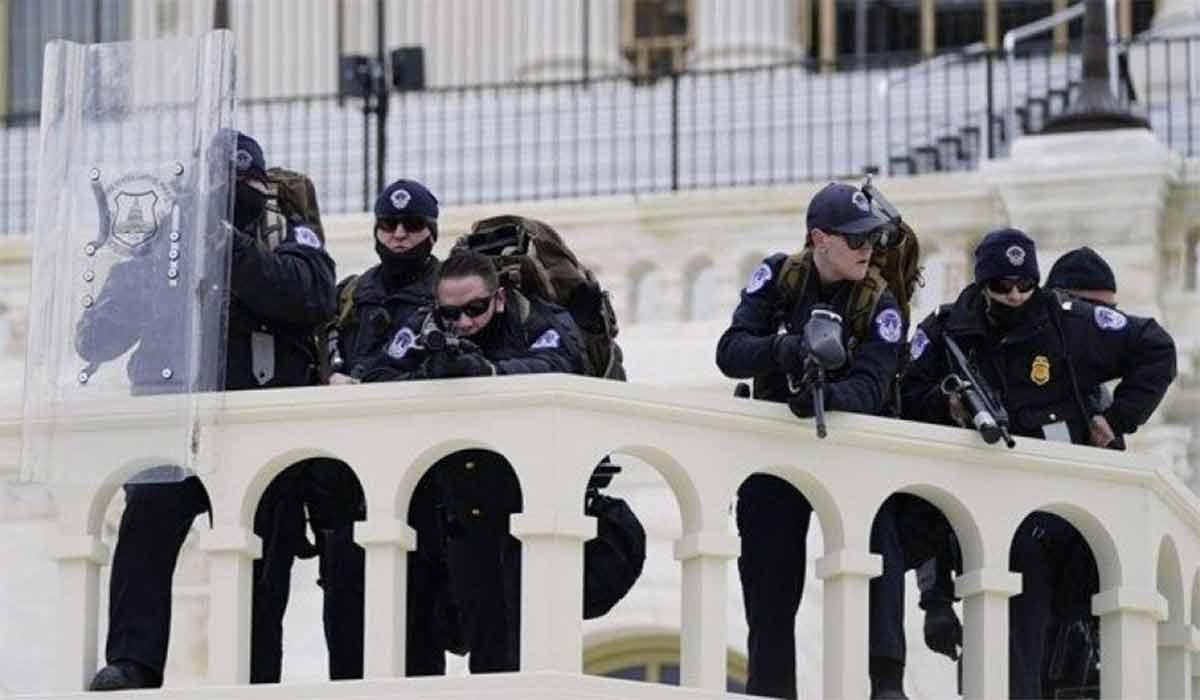 التماس مأمور امنیتی کنگره برای کمک