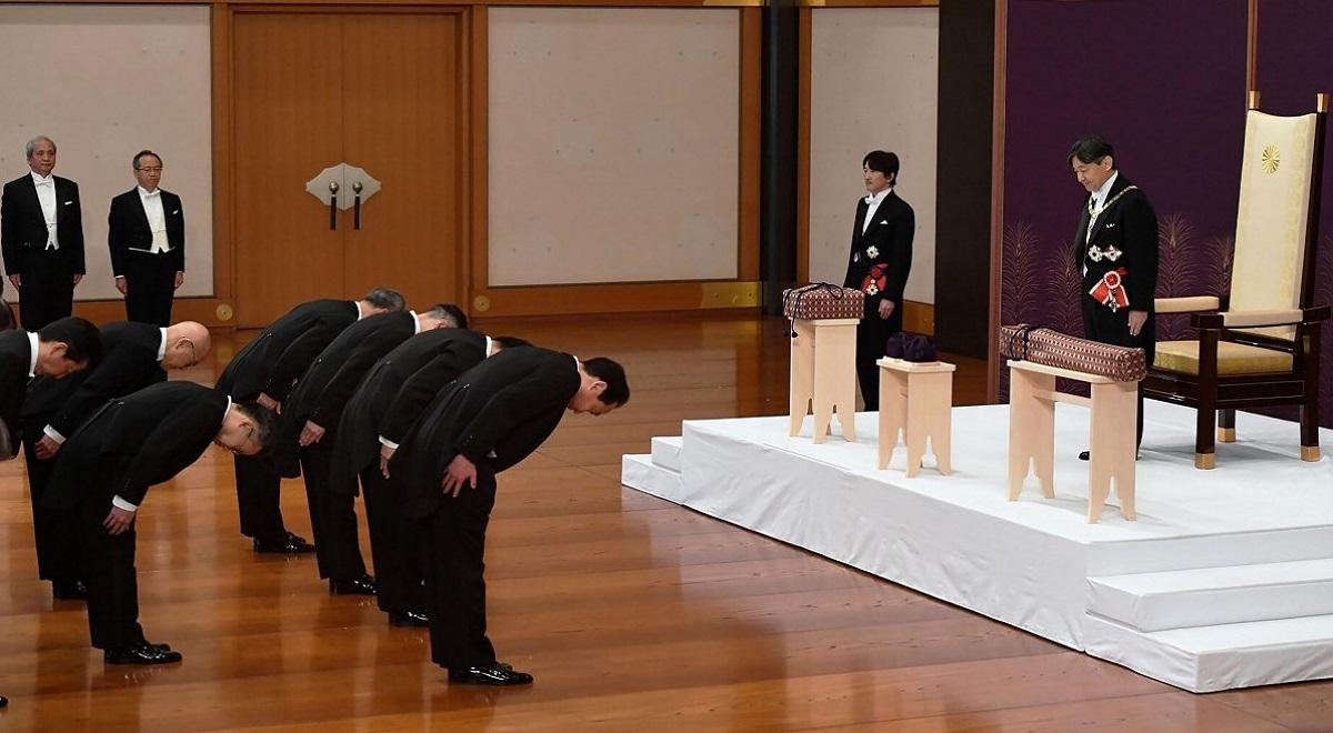مراسم تاج گزاری رسمی امپراتور جدید ژاپن