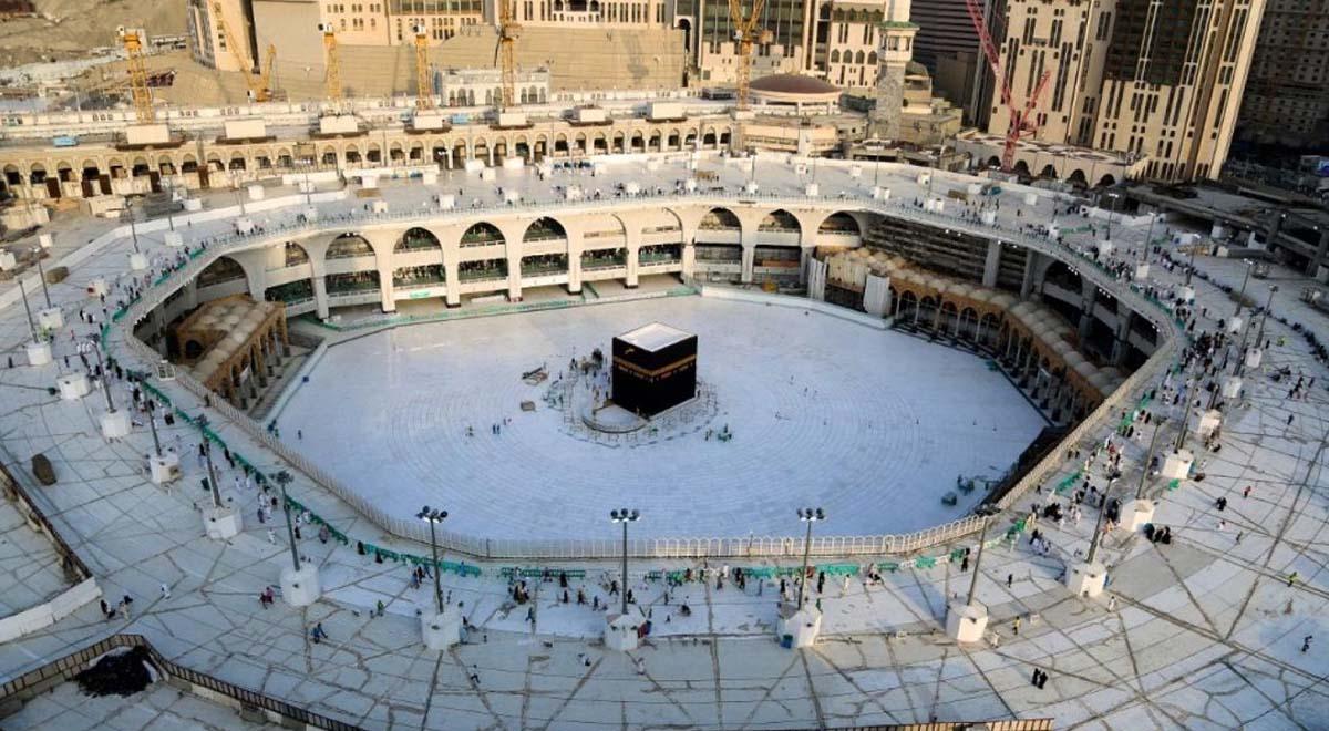 """تصاویر هوایی از """"مسجدالحرام"""" در اولین روز ماه مبارک رمضان"""